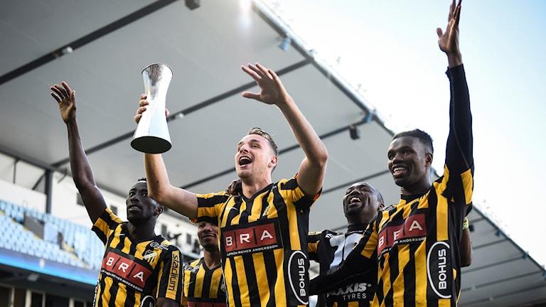 Häcken tog hem svenska cupen 2016.