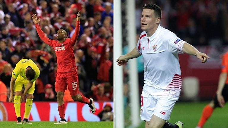 Liverpool och Sevilla