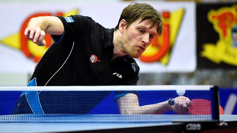 Eslövs Robert Svensson under den första CL-finalen.