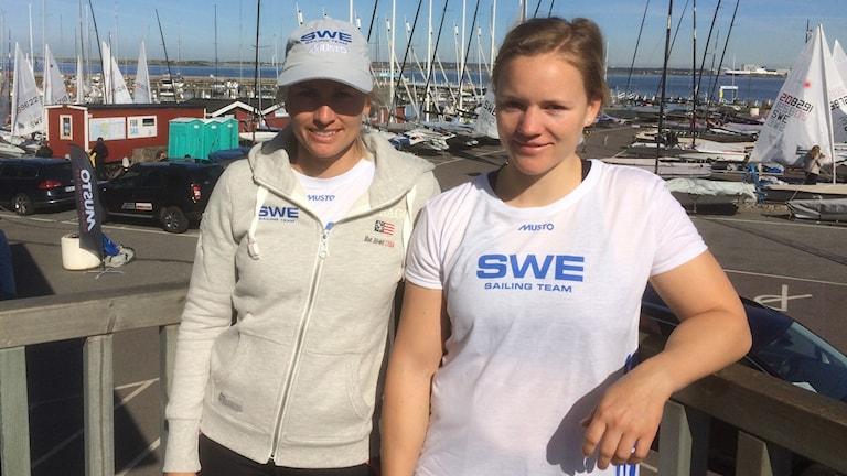 Lisa Ericsson och Hanna Klinga. Foto: Per Kahl/SR
