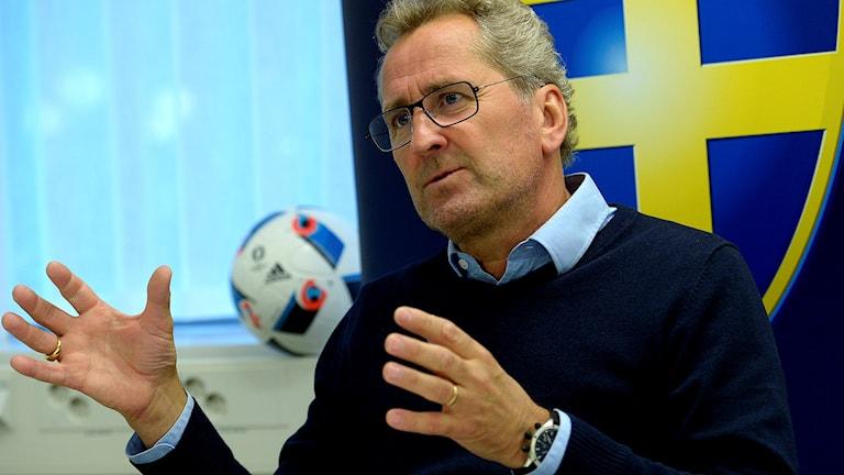 Förbundskapten Erik Hamrén.