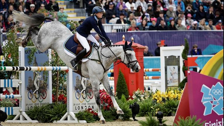 OS 2012 Sara Algotsson Ostholt på hästen Wega