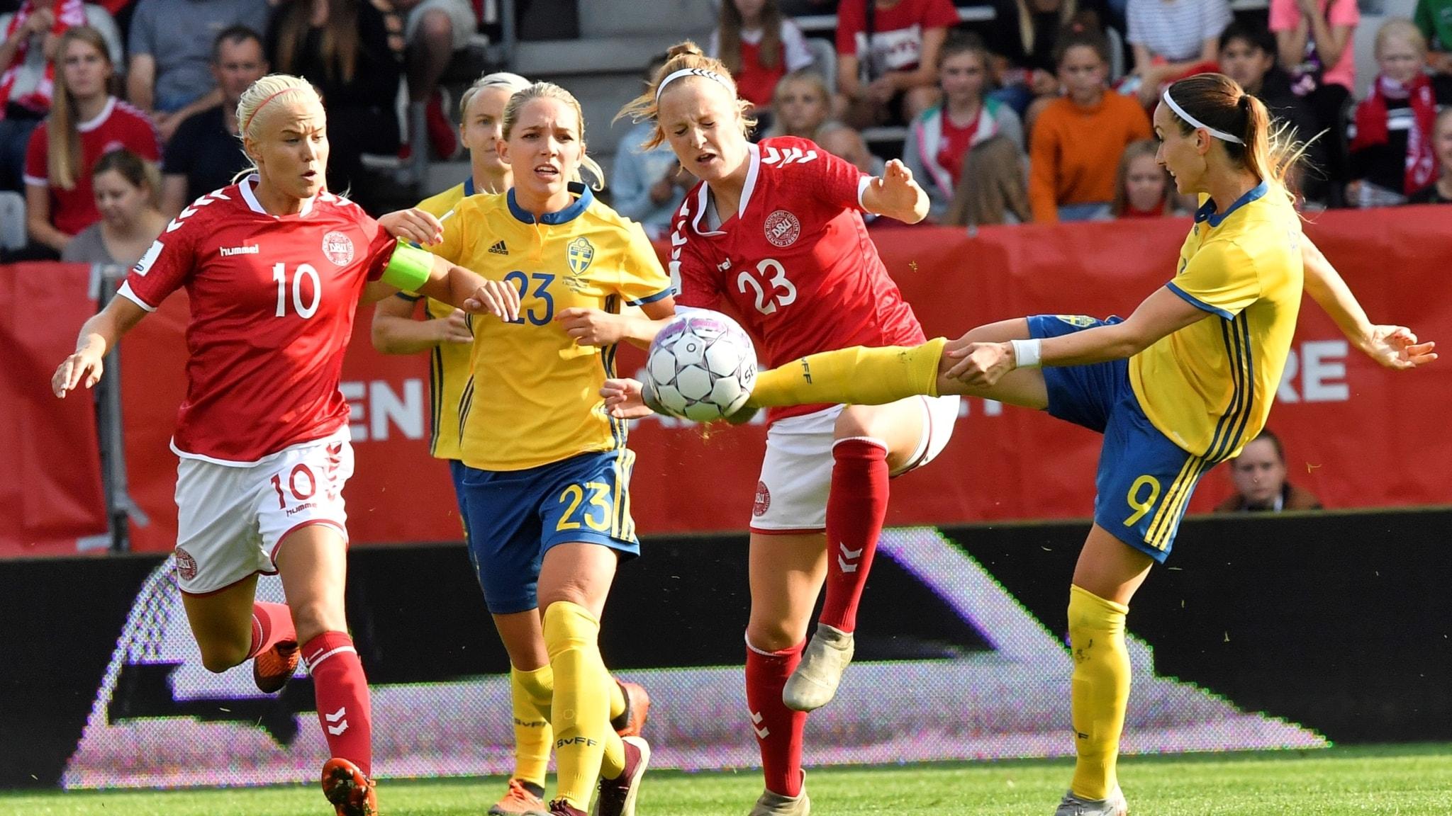 Svenska vm laget nast aldst i kvalet 3