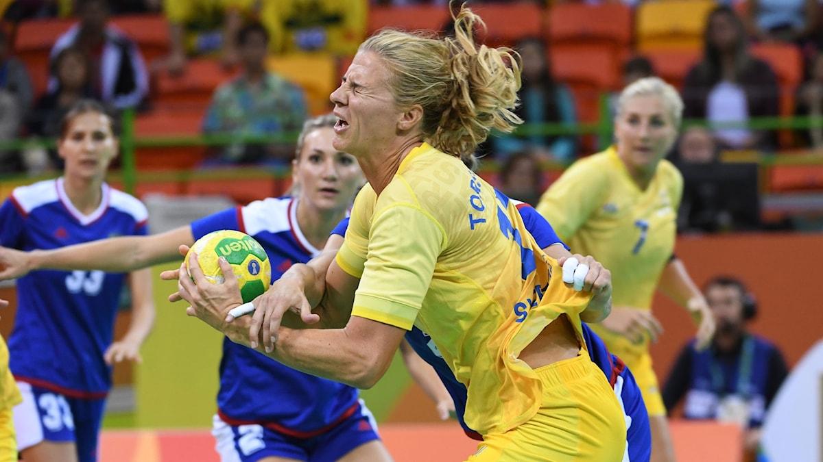Linnéa Torstensons Sverige förlorade mot Ryssland.