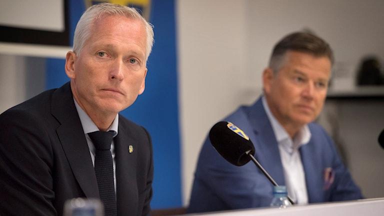 Håkan Sjöstrand, generalsekreterare på Svenska fotbollförbundet.