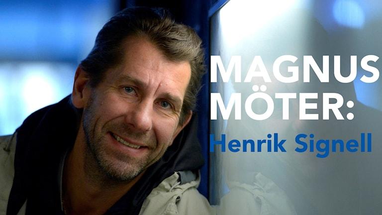 Radiosportens handbollsexpert Magnus Wislander.