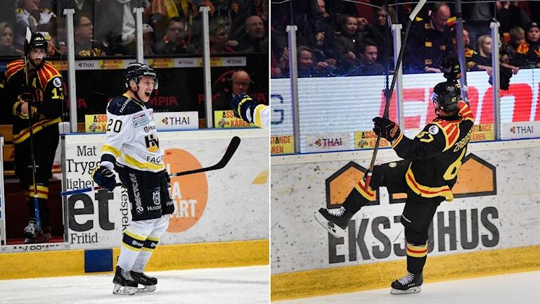 HV71 och Brynäs spelar sjätte finalmatchen i kväll.