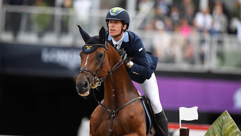 Henrik von Eckermann och hästen Mary Lou.