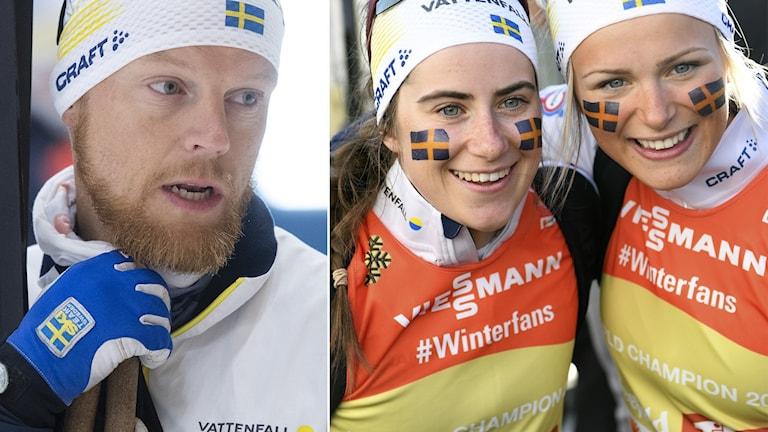 Anders Byström / Ebba Andersson och Frida Karlsson.