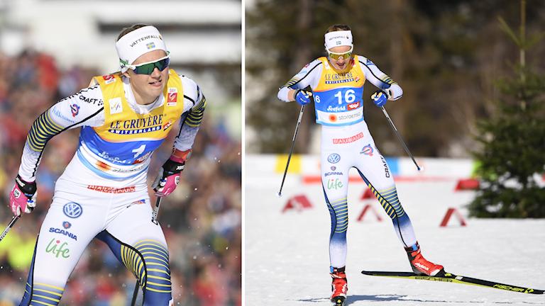 Maja Dahlqvist och Stina Nilsson.