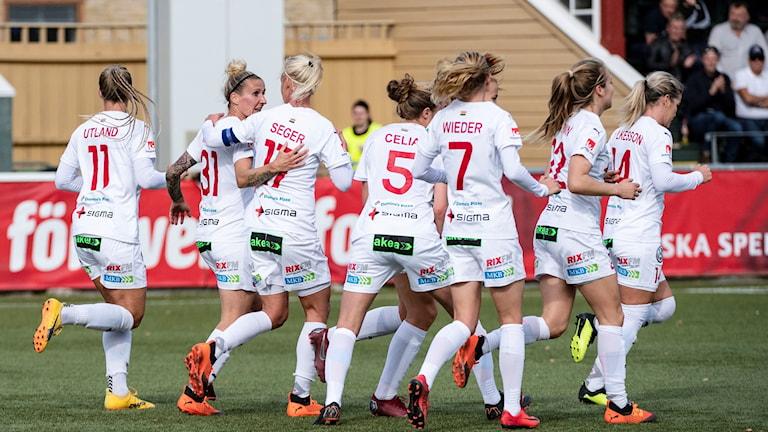 Rosengård inför Champions League.