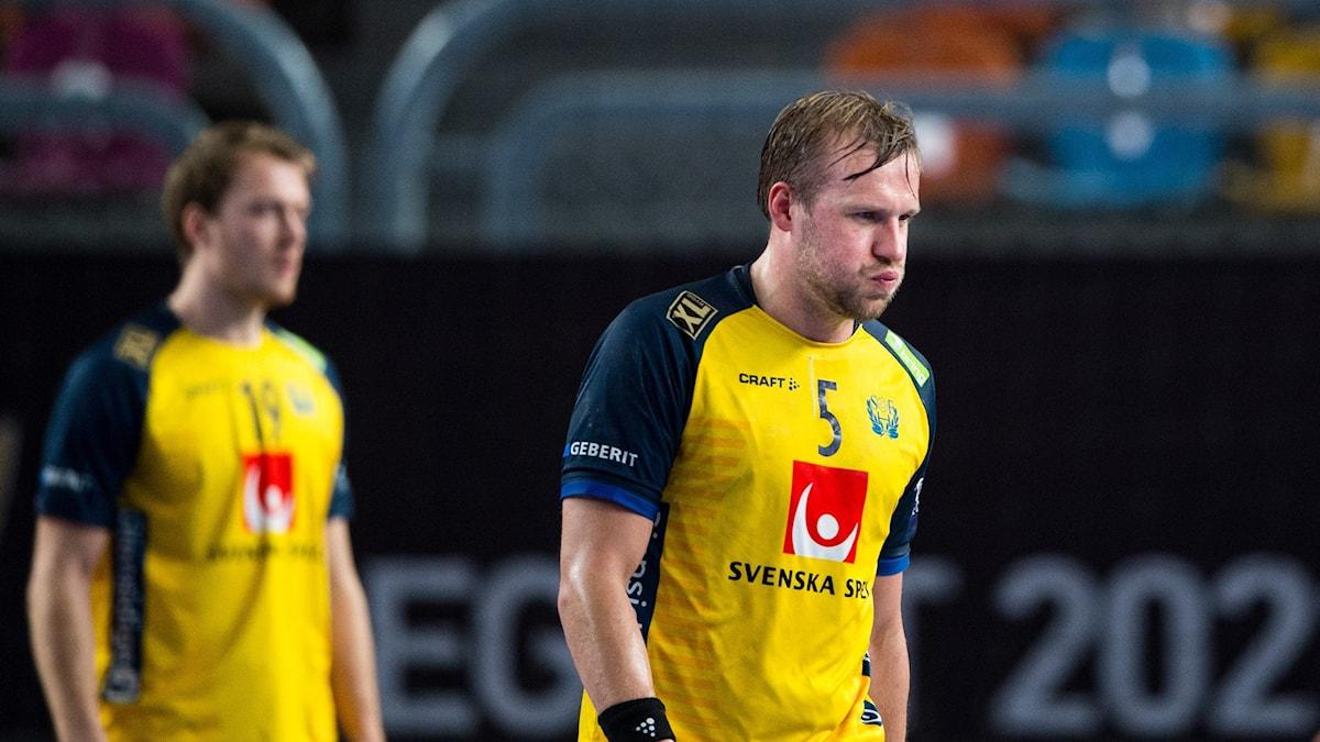 Max Darj ser besviken ut.