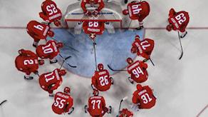 OAR vann OS-guld i ishockey 2018. Foto: AFP.