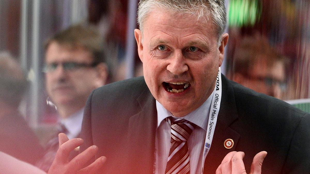 Per Bäckman, här som dansk förbundskapten.
