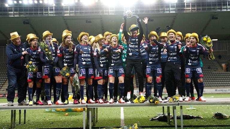 Linköping är regerande mästare.