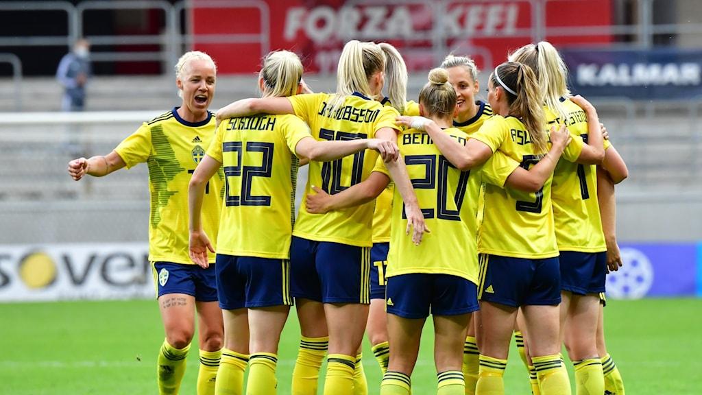 Svenskt jubel mot Norge.