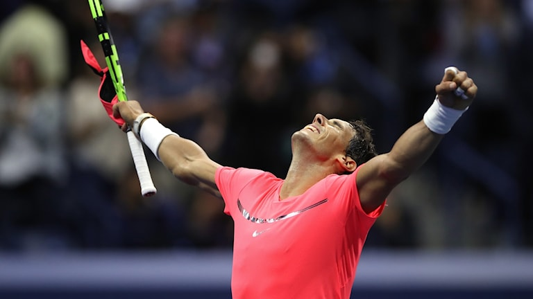 Rafael Nadal är vidare till semifinal i US Open.