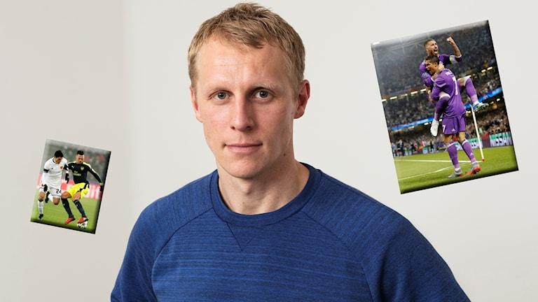 Radiosportens expert Richard Henriksson.