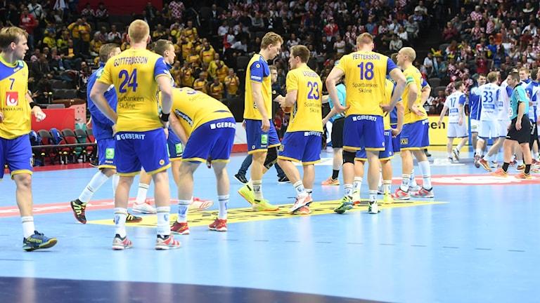 Sverige deppar efter förlusten mot Island.