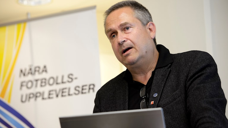 Mats Enquist, generalsekreterare på Svensk elitfotboll.