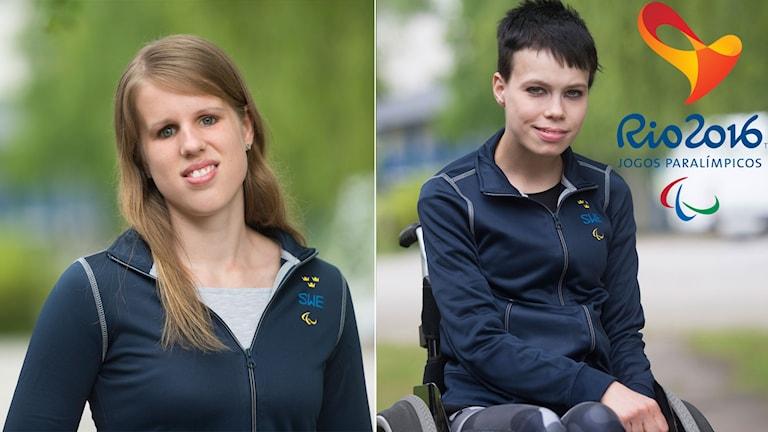 Maria Bjurström och Viktoria Karlsson är båda uttagna till Paralympics.