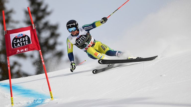 Sveriges alpine åkare Matts Olsson