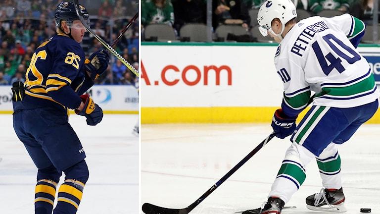 Rasmus Dahlin och Elias Pettersson fortsätter att imponera i NHL.