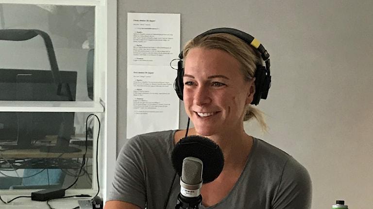 Sarah Sjöström. Foto: SR