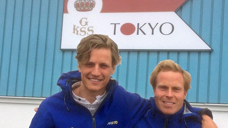 Marcus Dackhammar och Carl Fredrik Fock