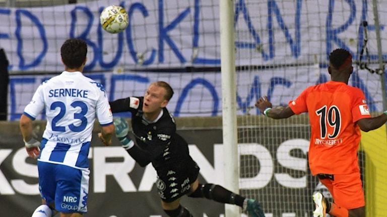AFC Eskilstuna slog IFK Göteborg.