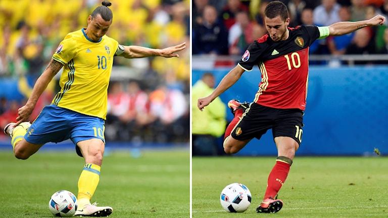 Sverige-Belgien.