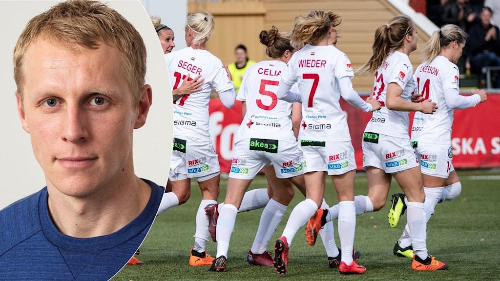 Radiosportens expert Richard Henriksson om CL-lottningen.