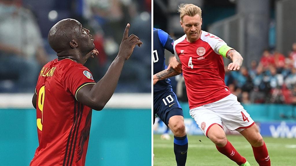 Danmark möter Belgien
