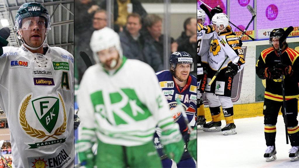 Tollefsen fick matchstraff, Rögle förlorade och Skellefteå vann.