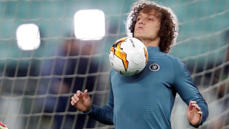 David Luiz lämnar Chelsea.