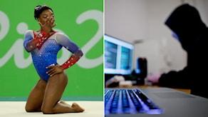 Simone Biles är en av OS-stjärnorna som fått sina hemliga medicinska uppgifter publicerade.