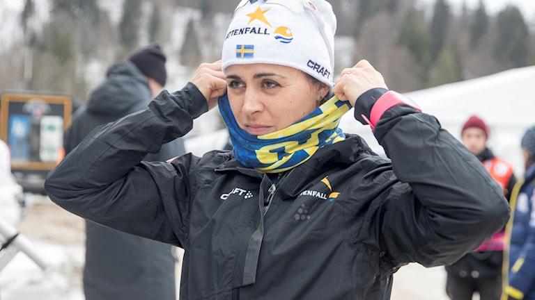 Anna Haag är glad över beslutet att ställa in sprinten.