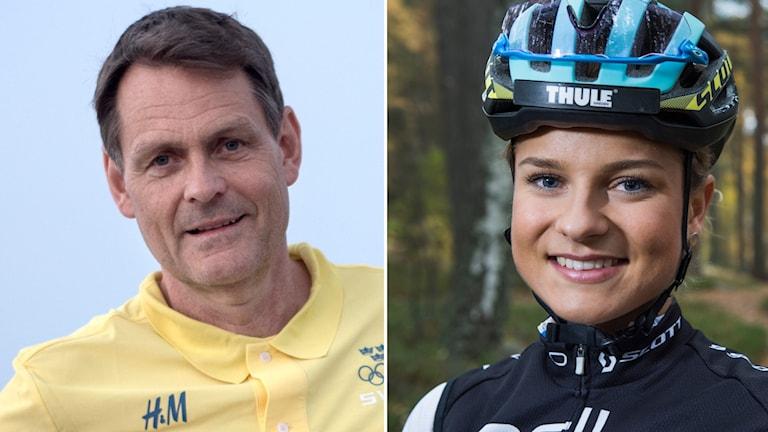 Peter Reinebo och Jenny Rissveds,
