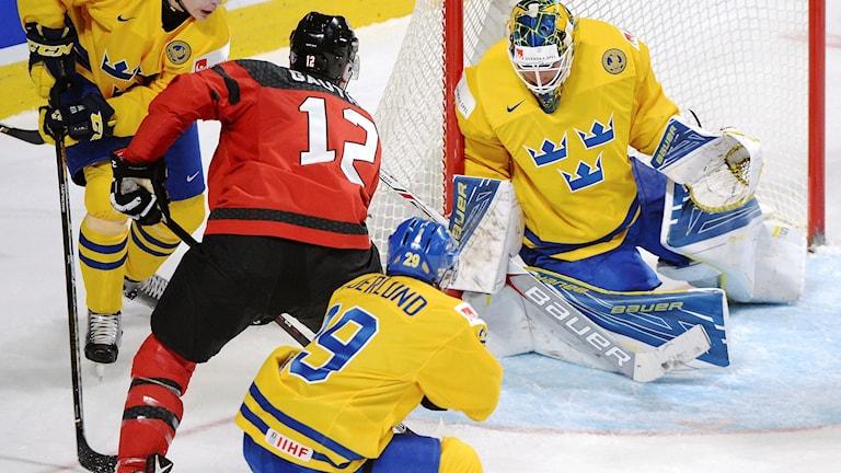 Junior-VM 2017 i ishockey. Foto: Paul Chiasson/TT