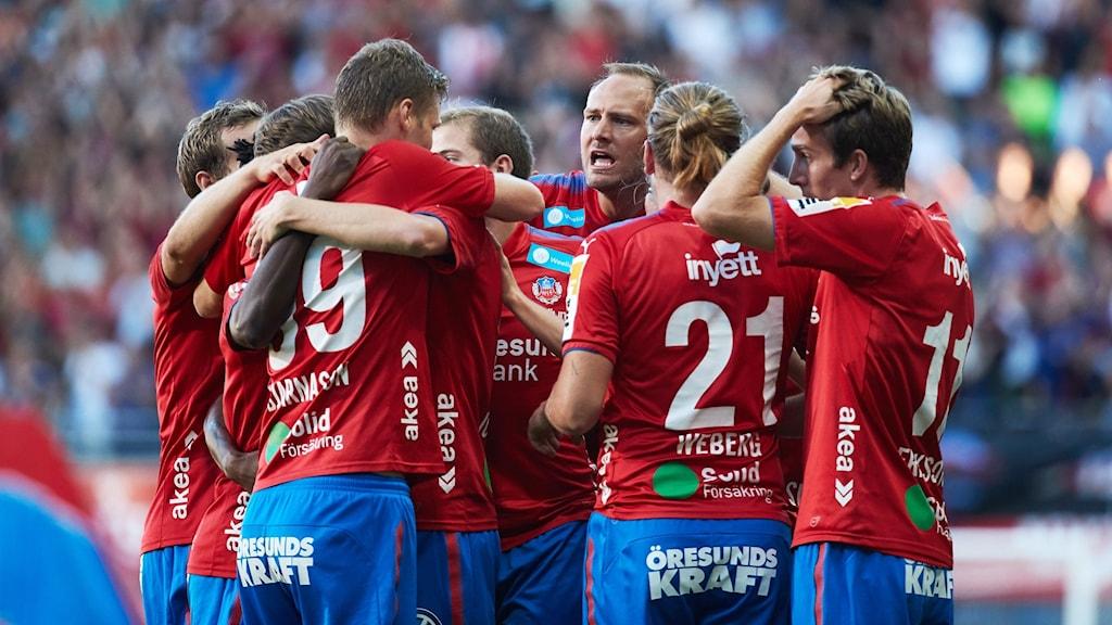 Andreas Granqvist och hans Helsingborg vann på nytt.