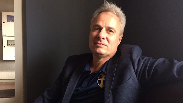 Jörgen Larsson är evenemangschef på Svenska Fotbollförbundet.