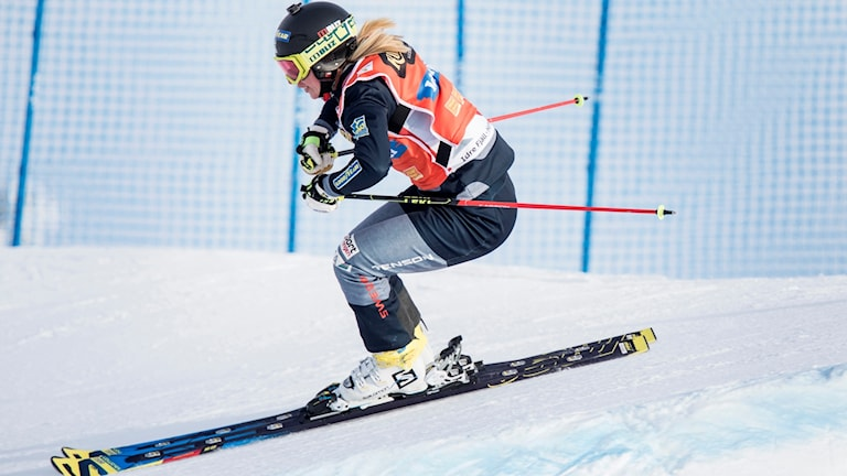 Sandra Näslund har varit på pallen i samtliga tävlingar den här säsongen.