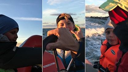 Viking, Folke och Max ute på havet. SR.Web.CssMapping.CssClass