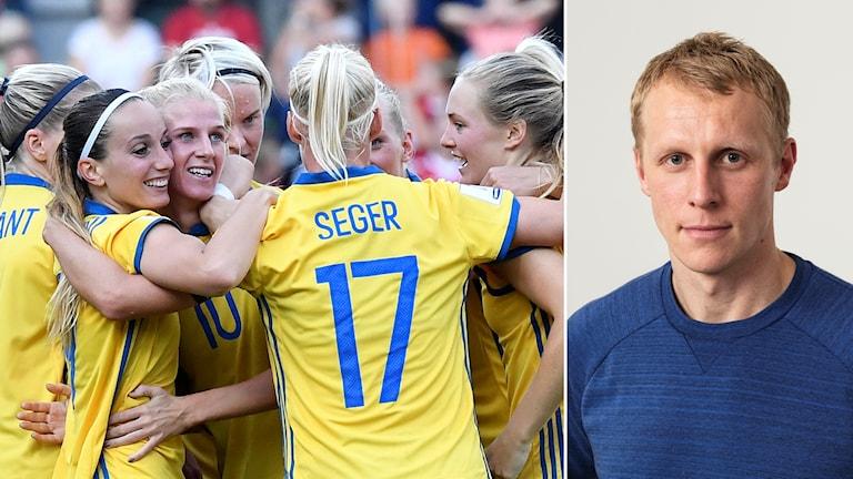 Sverige hyllas av expert Richard Henriksson.