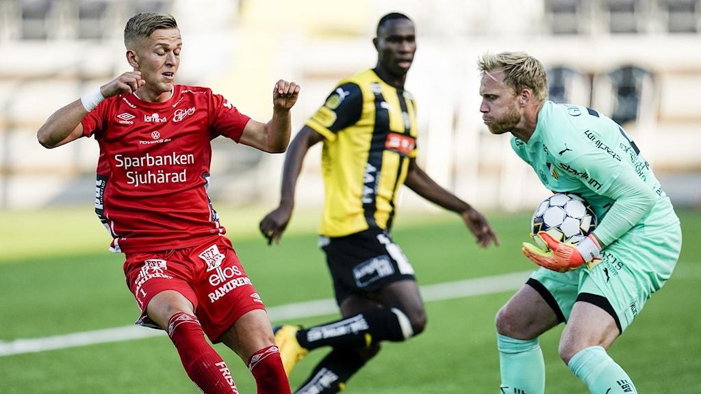 Elfsborg möter Häcken.