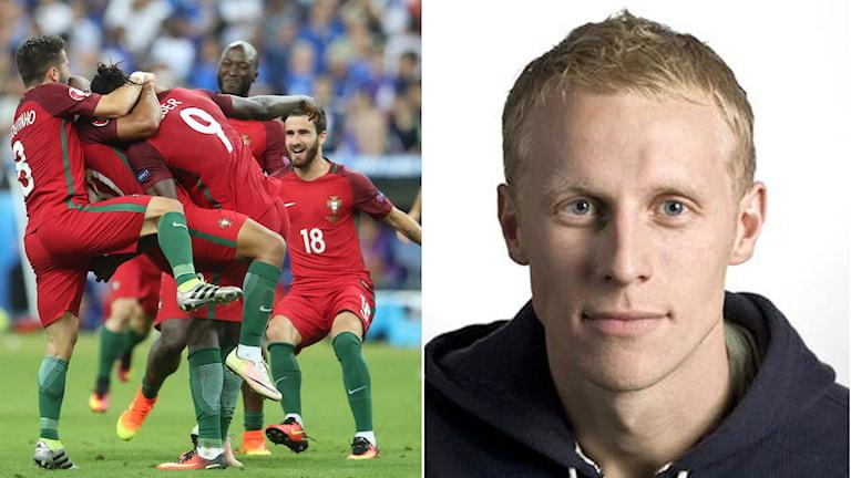 Portugal och Henriksson.
