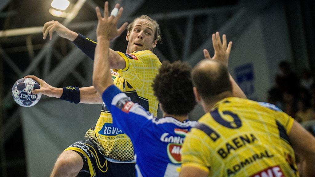 Kim Ekdahl du Rietz har imponerat i sin comeback med Rhein-Neckar Löwen.