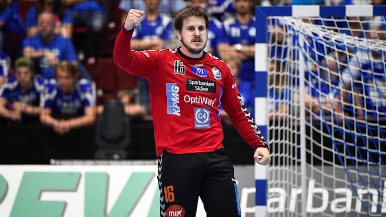 Kristianstads målvakt Nebojsa Simic.