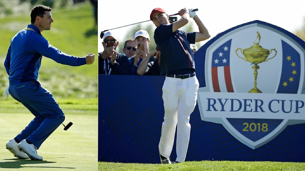 Collage Ryder Cup 2018