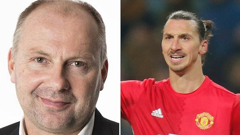 Håkan Mild och Zlatan Ibrahimovic.